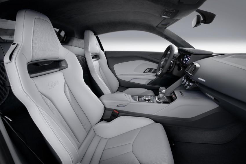 GALLERY: 2016 Audi R8 5.2 FSI V10 and R8 e-tron Image #315152