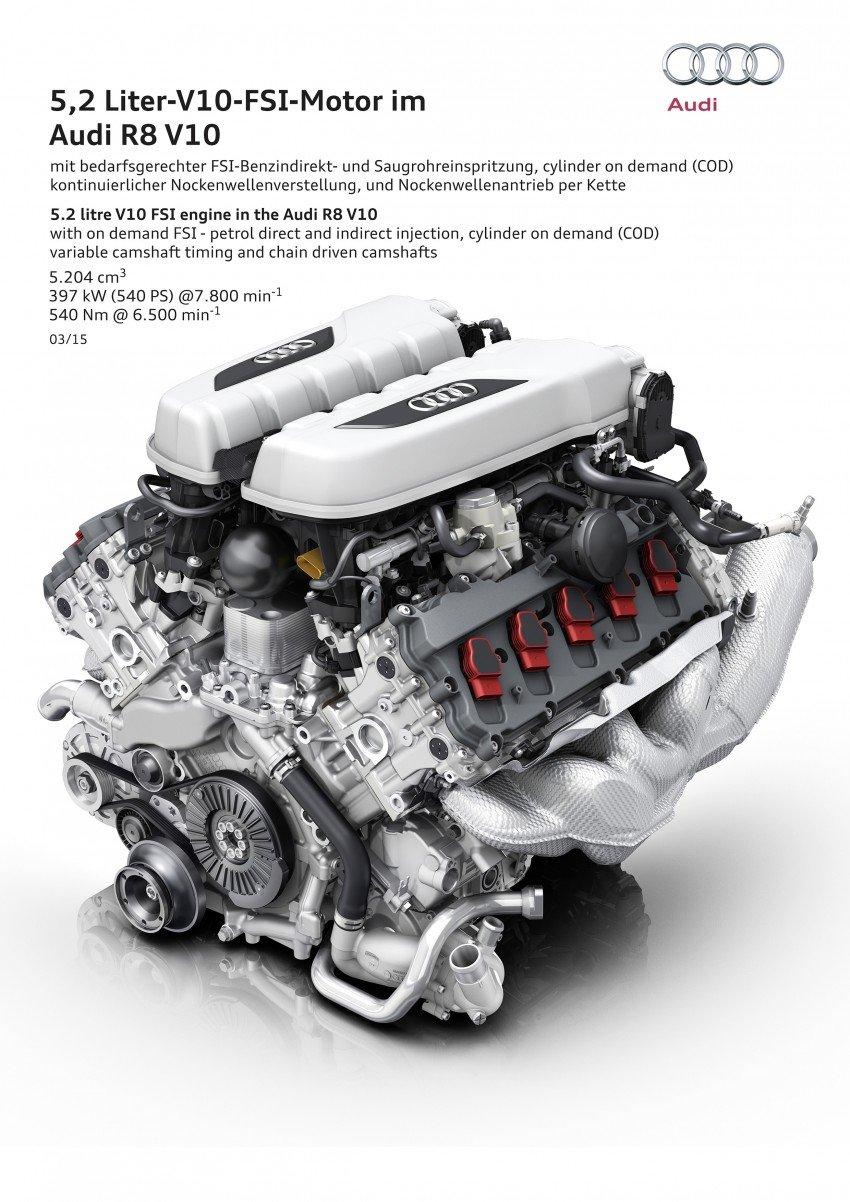 GALLERY: 2016 Audi R8 5.2 FSI V10 and R8 e-tron Image #315177
