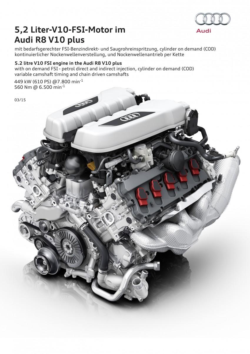GALLERY: 2016 Audi R8 5.2 FSI V10 and R8 e-tron Image #315176