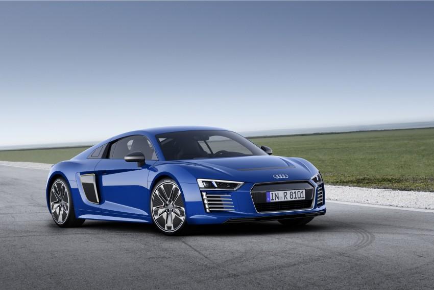 GALLERY: 2016 Audi R8 5.2 FSI V10 and R8 e-tron Image #315141