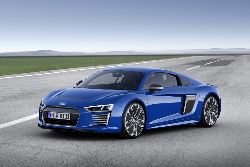 GALLERY: 2016 Audi R8 5.2 FSI V10 and R8 e-tron Image #315136