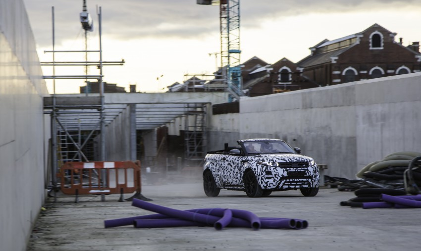 Range Rover Evoque Convertible confirmed for 2016 Image #315724