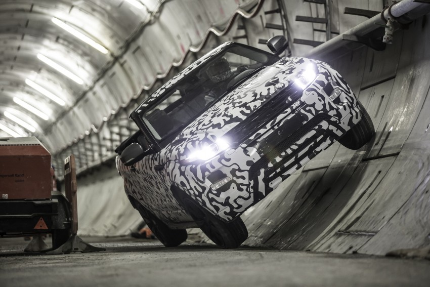 Range Rover Evoque Convertible confirmed for 2016 Image #315728