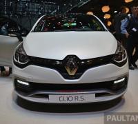 Renault Clio RS Trophy Geneva Live 13
