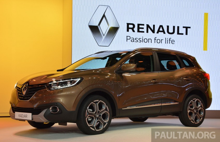 Renault Kadjar SUV – Nissan Qashqai's French sister makes its debut in Geneva; full live gallery Image #315833