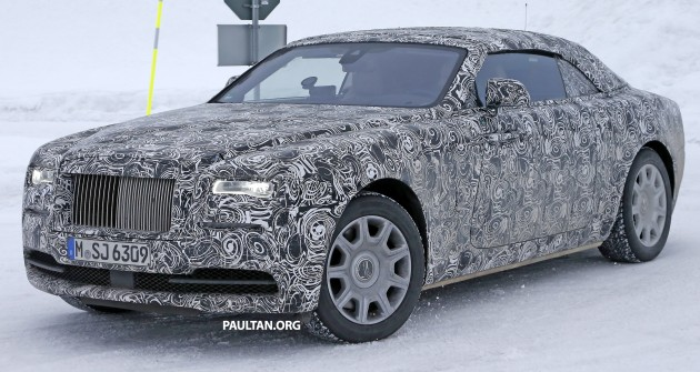 Rolls Royce Wraith Drophead Coupe 4