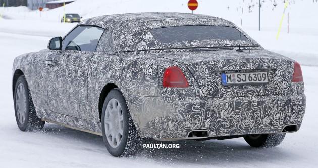 Rolls Royce Wraith Drophead Coupe 9