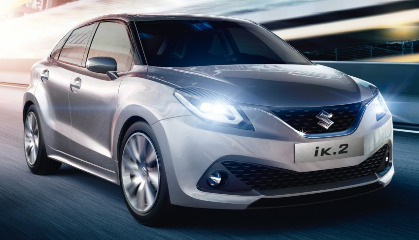Suzuki iK-2 concept debuts, production slated for 2016 Image #315888