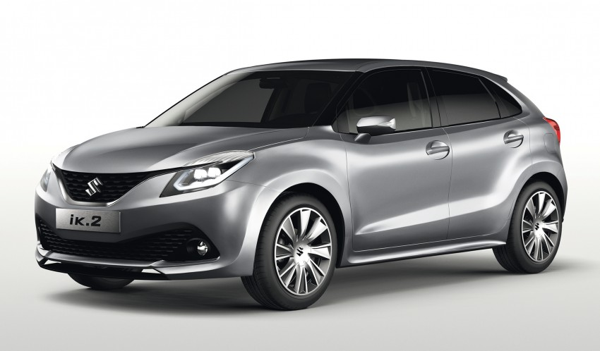 Suzuki iK-2 concept debuts, production slated for 2016 Image #315891