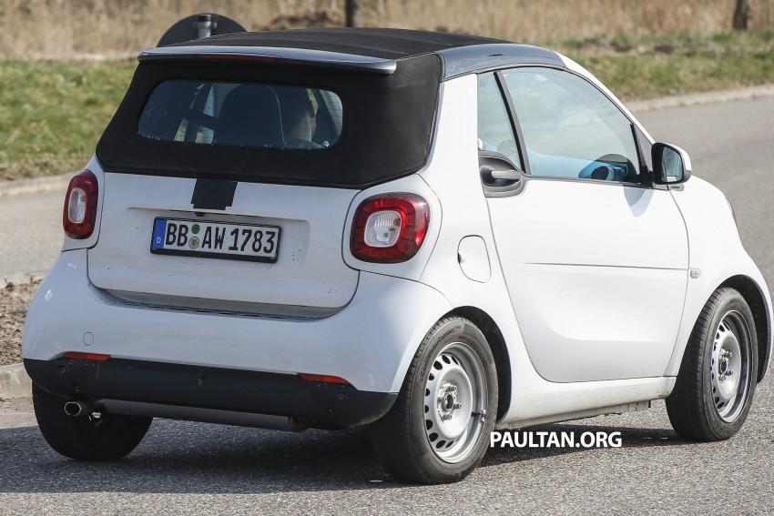 SPYSHOTS: 2016 smart fortwo cabrio needs no camo Image #322403