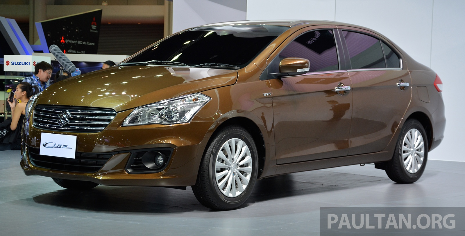 GALLERY: Suzuki Ciaz 1.25L Eco Car At Bangkok 2015