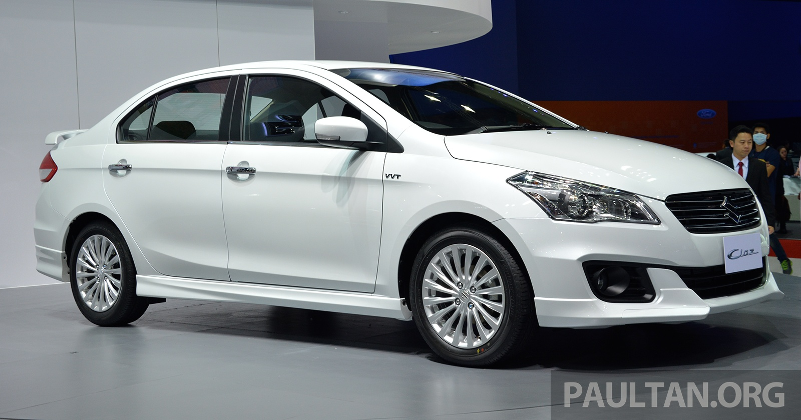 GALLERY: Suzuki Ciaz 1.25L Eco Car At Bangkok 2015 Image