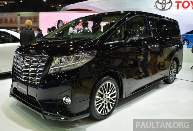 2015 Toyota Alphard Vellfire Launched In Thailand Live