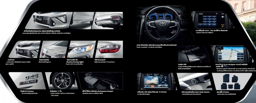 2015 Toyota Camry facelift range launched in Thailand – gets new 2.0L VVT-iW D-4S engine and 6-speed auto Image #317779