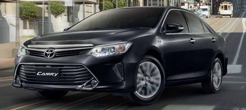 2015 Toyota Camry facelift range launched in Thailand – gets new 2.0L VVT-iW D-4S engine and 6-speed auto Image #317788