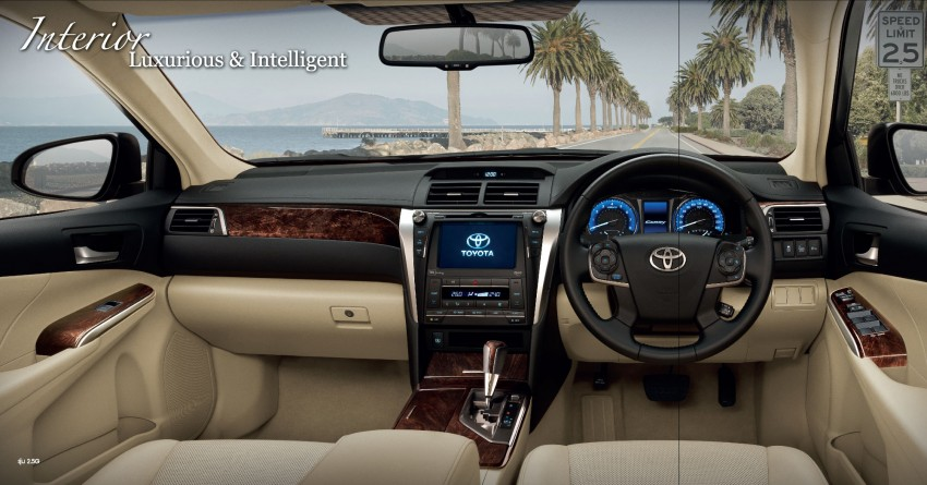 2015 Toyota Camry facelift range launched in Thailand – gets new 2.0L VVT-iW D-4S engine and 6-speed auto Image #317790