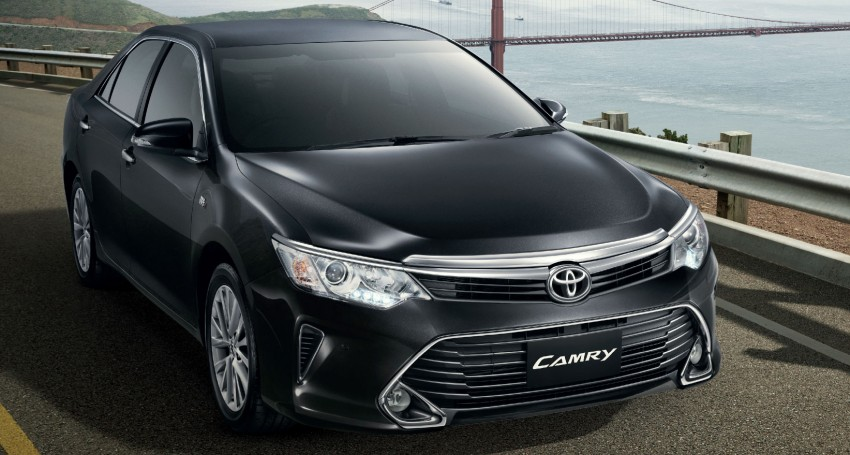2015 Toyota Camry facelift range launched in Thailand – gets new 2.0L VVT-iW D-4S engine and 6-speed auto Image #317792