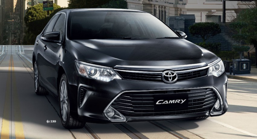 2015 Toyota Camry facelift range launched in Thailand – gets new 2.0L VVT-iW D-4S engine and 6-speed auto Image #317793