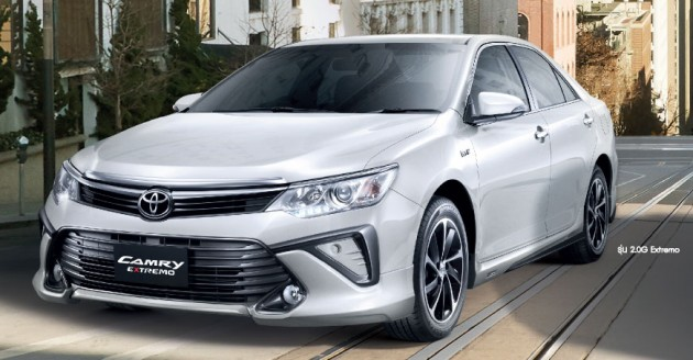 Toyota Camry Facelift Thailand 019