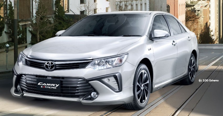 2015 Toyota Camry facelift range launched in Thailand – gets new 2.0L VVT-iW D-4S engine and 6-speed auto Image #317794
