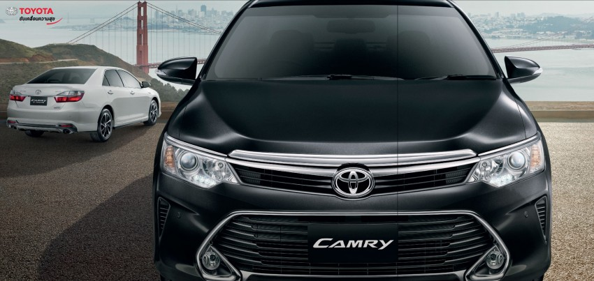2015 Toyota Camry facelift range launched in Thailand – gets new 2.0L VVT-iW D-4S engine and 6-speed auto Image #317796