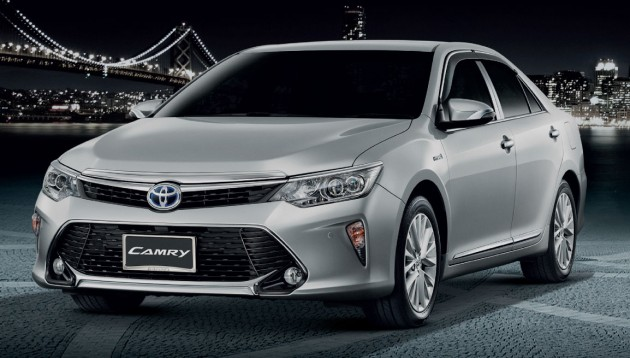 latest toyota camry in thailand autos post. Black Bedroom Furniture Sets. Home Design Ideas