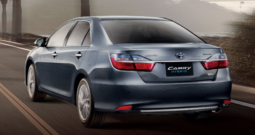 2015 Toyota Camry facelift range launched in Thailand – gets new 2.0L VVT-iW D-4S engine and 6-speed auto Image #317864