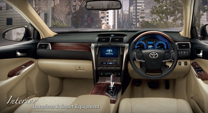 2015 Toyota Camry facelift range launched in Thailand – gets new 2.0L VVT-iW D-4S engine and 6-speed auto Image #317866