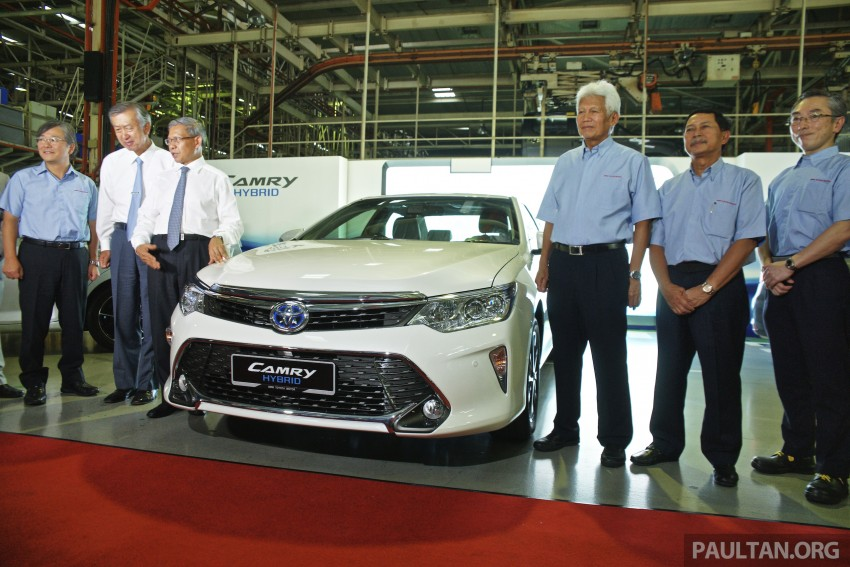 2015 Toyota Camry starts M'sian production, plant capable of 7k Camry Hybrids before exemptions expire Image #320644