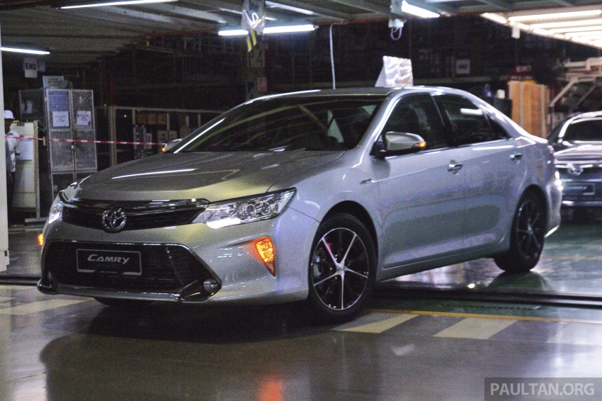 2015 Toyota Camry starts M'sian production, plant capable of 7k Camry Hybrids before exemptions expire Image #320658