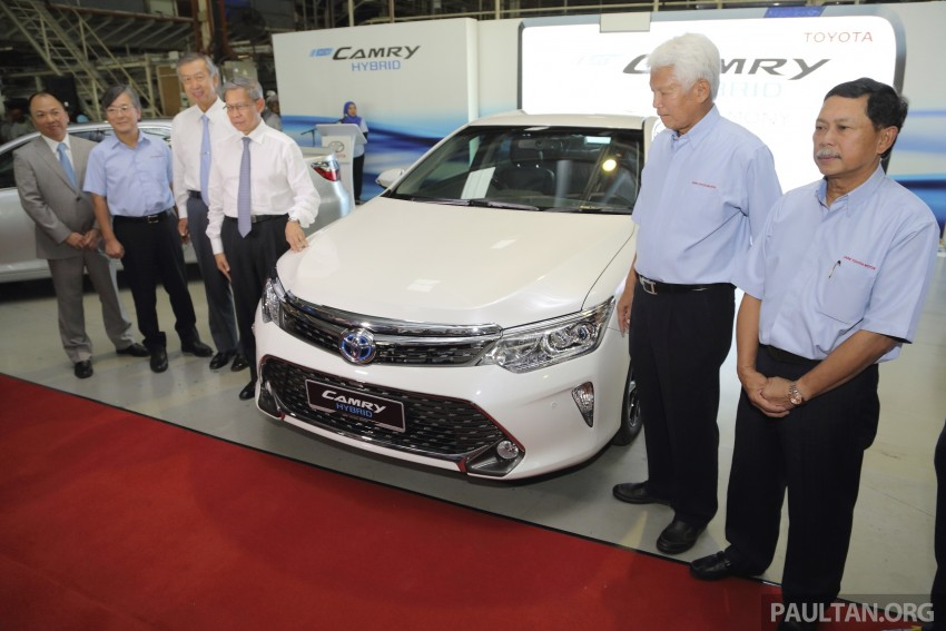 2015 Toyota Camry starts M'sian production, plant capable of 7k Camry Hybrids before exemptions expire Image #320672