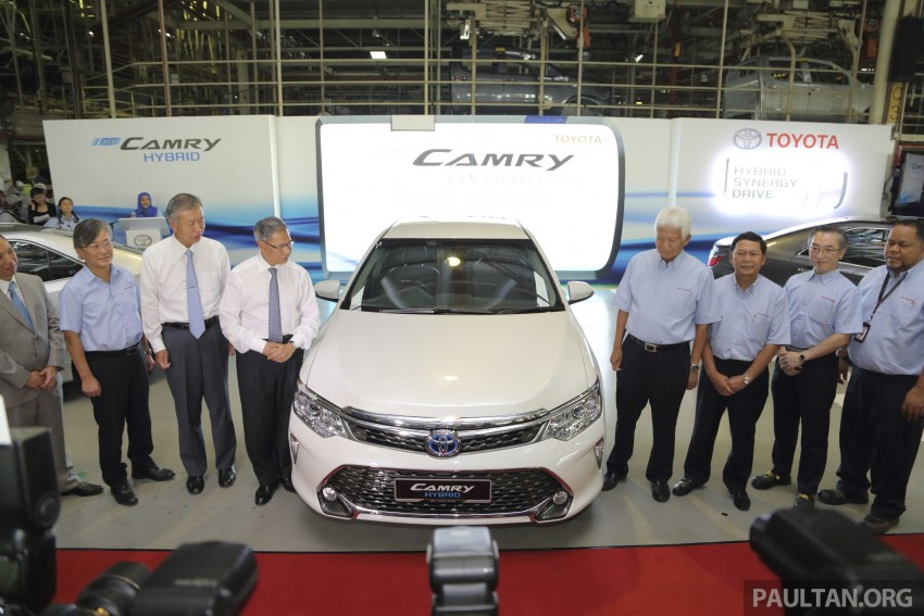 2015 Toyota Camry starts M'sian production, plant capable of 7k Camry Hybrids before exemptions expire Image #320673
