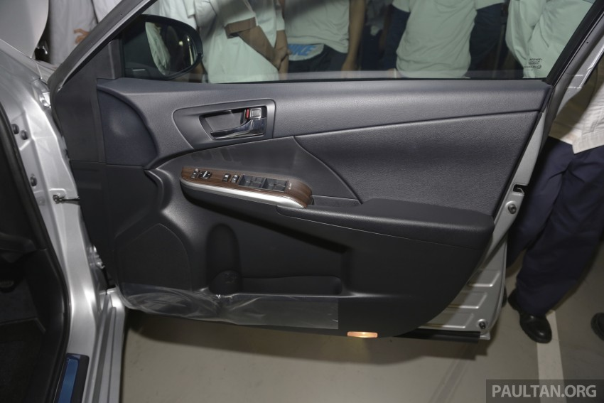 2015 Toyota Camry starts M'sian production, plant capable of 7k Camry Hybrids before exemptions expire Image #320694
