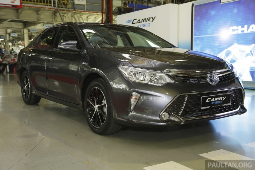 2015 Toyota Camry starts M'sian production, plant capable of 7k Camry Hybrids before exemptions expire Image #320700