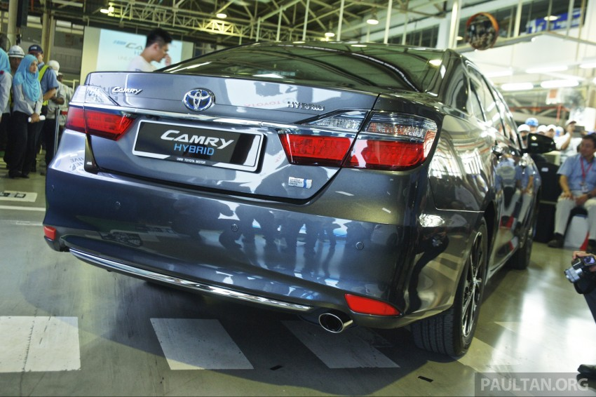 2015 Toyota Camry starts M'sian production, plant capable of 7k Camry Hybrids before exemptions expire Image #320647