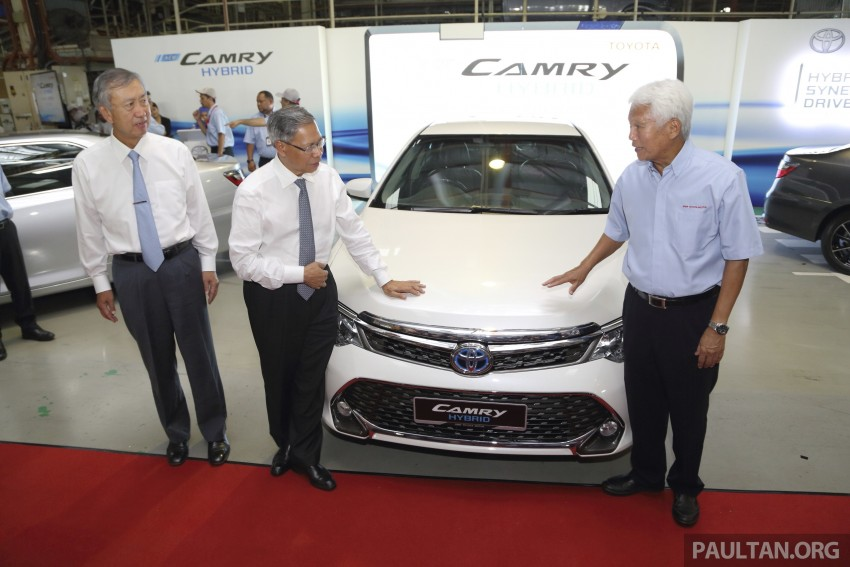 2015 Toyota Camry starts M'sian production, plant capable of 7k Camry Hybrids before exemptions expire Image #320674