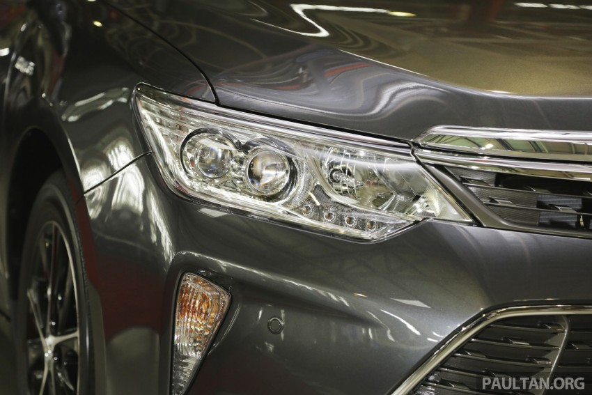 2015 Toyota Camry starts M'sian production, plant capable of 7k Camry Hybrids before exemptions expire Image #320702