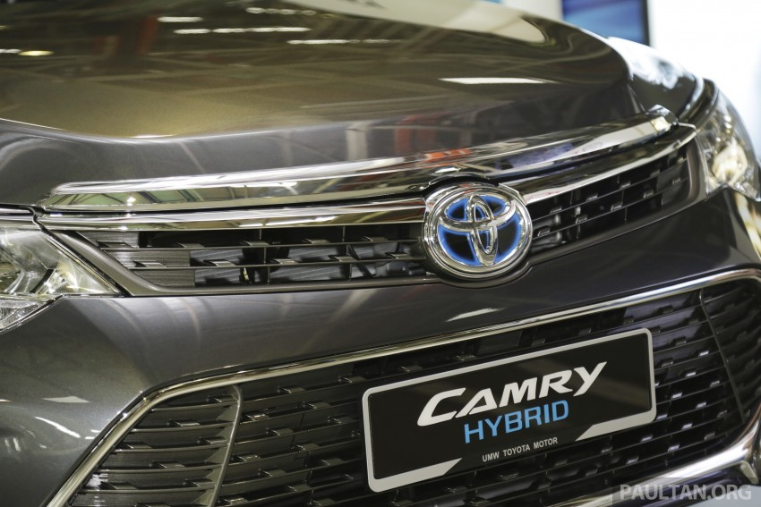 2015 Toyota Camry starts M'sian production, plant capable of 7k Camry Hybrids before exemptions expire Image #320705