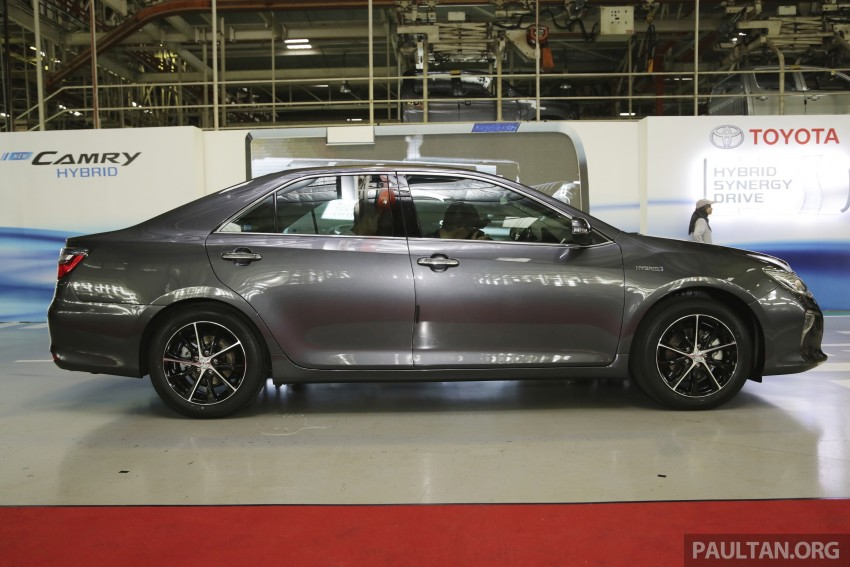 2015 Toyota Camry starts M'sian production, plant capable of 7k Camry Hybrids before exemptions expire Image #320713