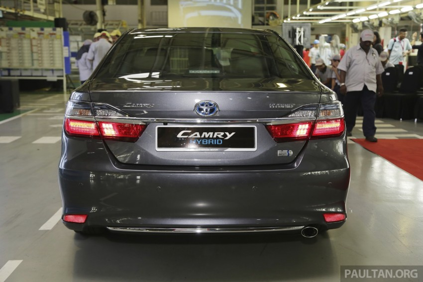 2015 Toyota Camry starts M'sian production, plant capable of 7k Camry Hybrids before exemptions expire Image #320715