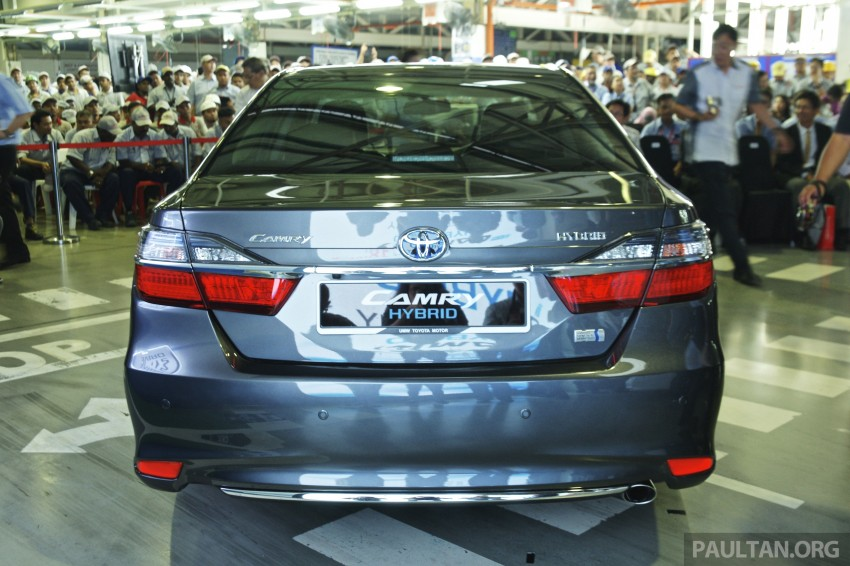 2015 Toyota Camry starts M'sian production, plant capable of 7k Camry Hybrids before exemptions expire Image #320650