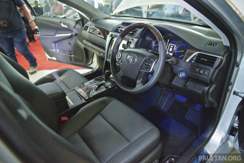 2015 Toyota Camry starts M'sian production, plant capable of 7k Camry Hybrids before exemptions expire Image #320652
