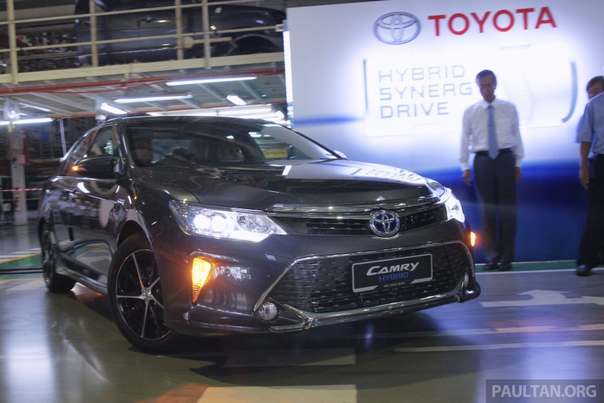 2015 Toyota Camry starts M'sian production, plant capable of 7k Camry Hybrids before exemptions expire Image #320654