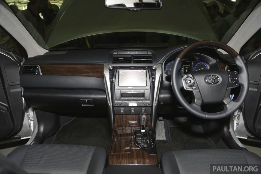 2015 Toyota Camry starts M'sian production, plant capable of 7k Camry Hybrids before exemptions expire Image #320680