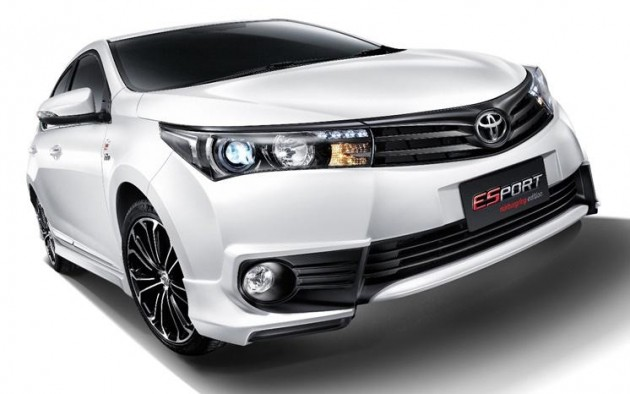 toyota corolla altis esport nurburgring edition launched. Black Bedroom Furniture Sets. Home Design Ideas