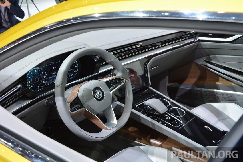 GALLERY: Volkswagen Sport Coupe Concept GTE Image #316530