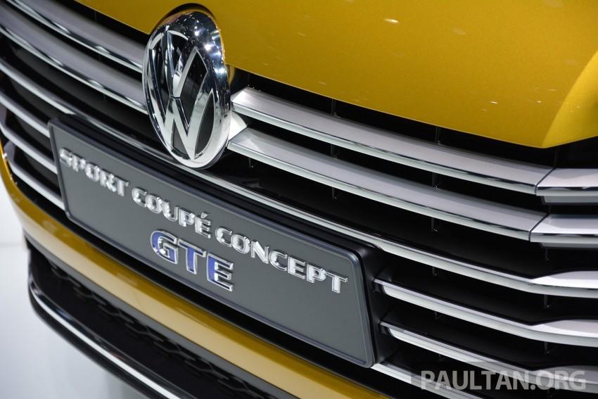 GALLERY: Volkswagen Sport Coupe Concept GTE Image #316532
