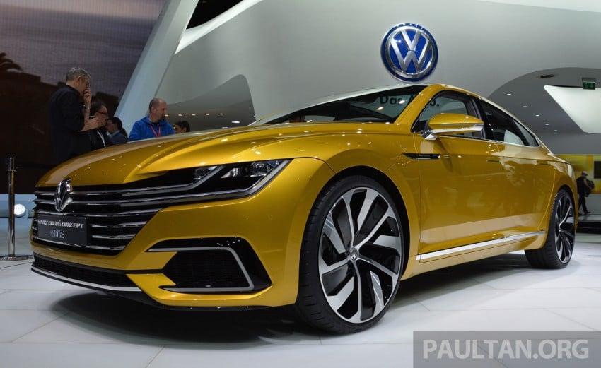 GALLERY: Volkswagen Sport Coupe Concept GTE Image #316533