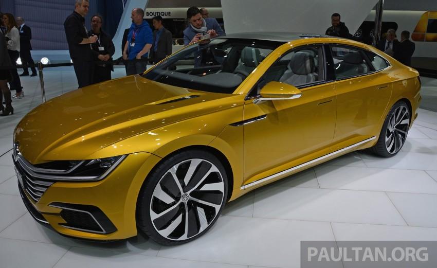 GALLERY: Volkswagen Sport Coupe Concept GTE Image #316536