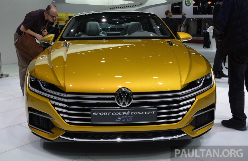 GALLERY: Volkswagen Sport Coupe Concept GTE Image #316522
